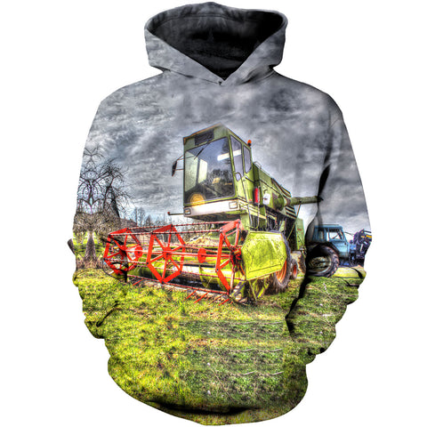 Image of Farmer Lawn Mower 3D Hoodies