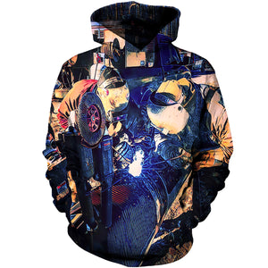 8824602be7d1 Welders Star Xmas 3D Hoodies ...