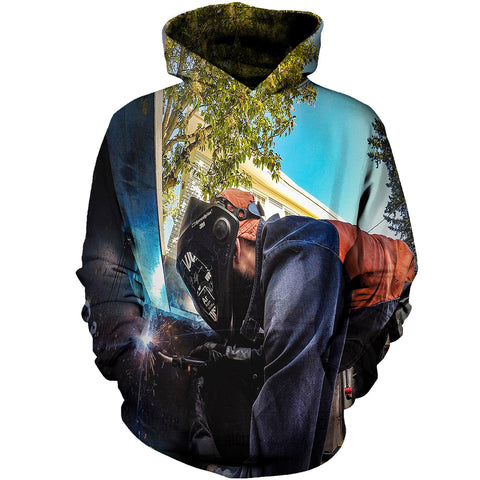 Image of Welder Man The Black Princess 3D Hoodies