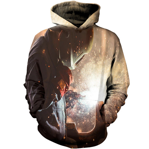Image of Welder The Light End Of The Road 3D Hoodies