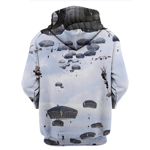 The Paratrooper Life 3D Hoodies