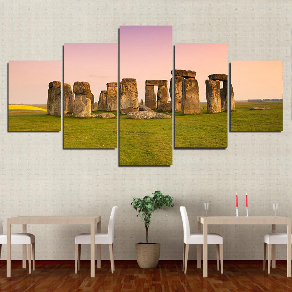 Ship To USA Only] Stonehenge Ireland Framed Canvas – AzBetter