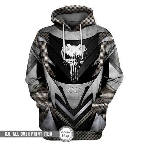 Image of Back The Correctional Officer 3D Hoodie