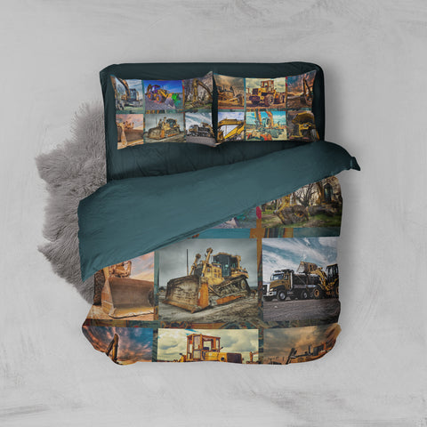 Image of Mechanic The Dream Of Heavy Equipment Operator Operator Bedding Set