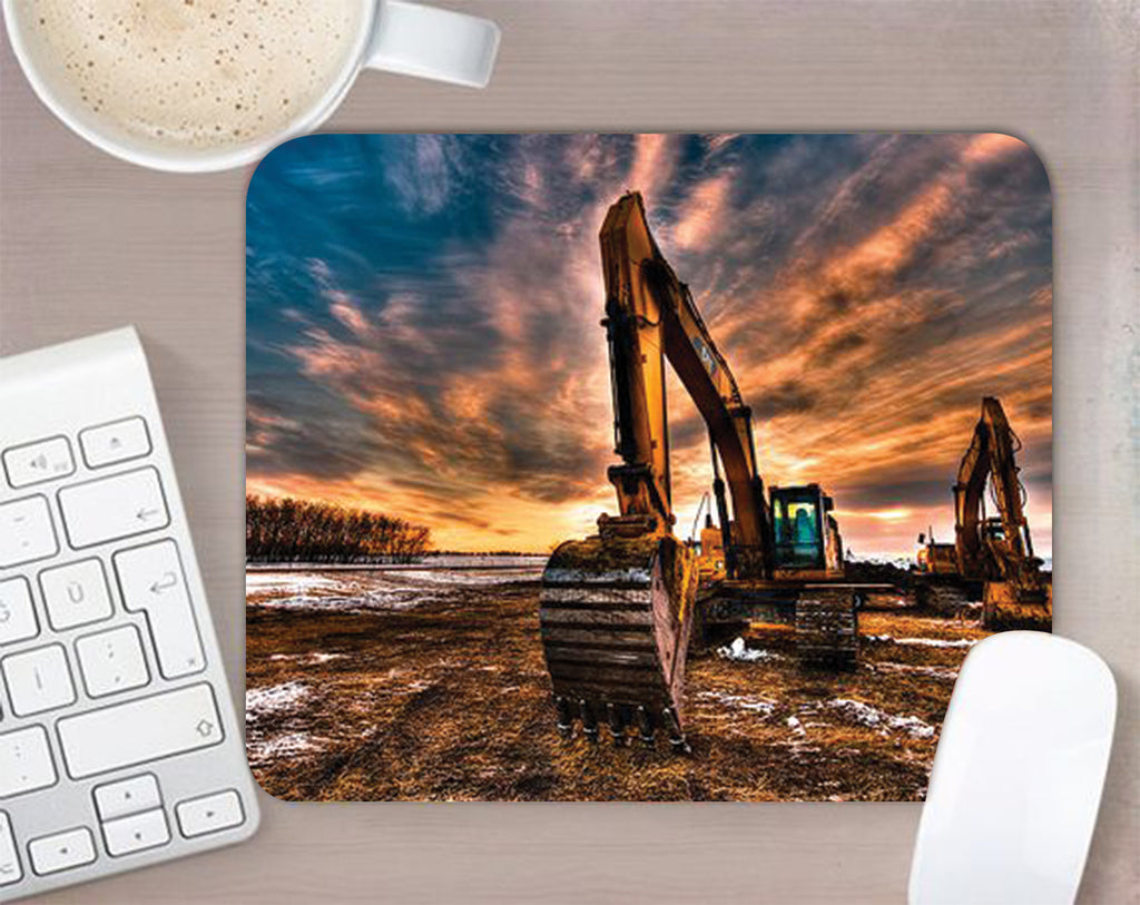 Friends Of Heavy Equipment Operator  Mousepad