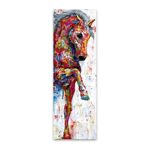 Amazing Horse Abstract Canvas - Home Decor - Best Gifts For Farmers - Horse Canvas