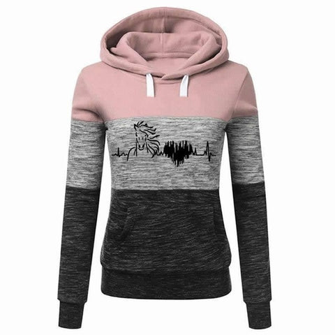 Perfect Hoodie For Horse Lovers - Apparel - Gifts For Horse Lovers - Horse Lovers Sweatshirts - Equestrian Gifts For her
