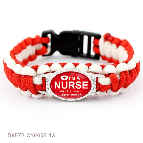 Cool Paracord Bracelet for Nurse - Accessories - Best Gifts For Nurses - RN Graduation Gifts - RN gift ideas