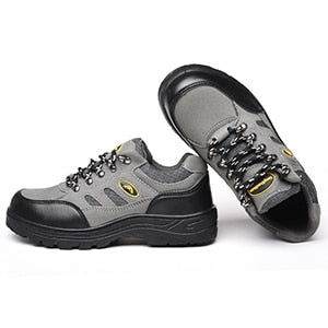 Men's Safety Shoes Farm Work  Anti-puncture Anti-smashing Anti-slip Shoes