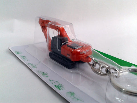 Excavator Alloy Keychain Father's Day Gift