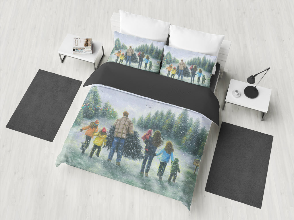 Family Is Number One - Bedding Set
