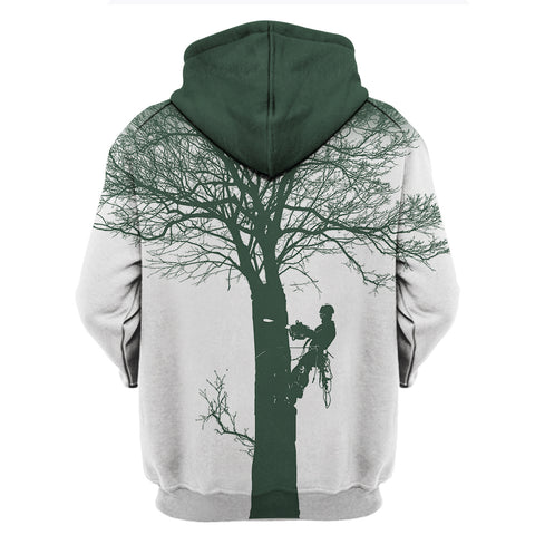 New Logger Daily Work 3D Zipper Hoodie