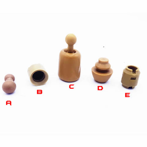 1//6 Neck Ring for Hot Toys Custom Head Sculpt Peg Joint Adapter Connector Body