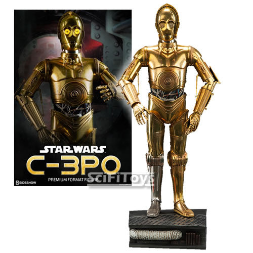 1:4 Star Wars - Limited Edition C-3PO Premium Format by Sideshow Collectibles