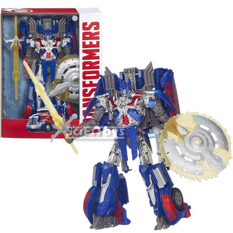 Transformers : Age Of Extinction - Optimus Prime Autobot First Edition Figure Hasbro