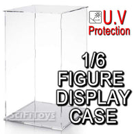 1:6 Action Figure U.V Protection Clear display case for Hot Toys  Sideshow Enterbay Barbie