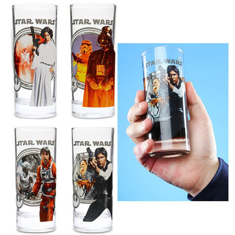 Star Wars - Licensed Collector Glass Set Pack of 4