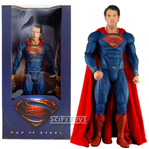 1:4 scale Superman : Man of Steel - Clark Kent Henry Cavill Superman Figure NECA