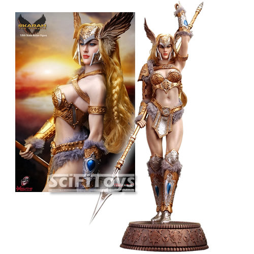 1:6 Goddess of War - Skarah The Valkyrie Female Custom Figure Phicen TBLeague (LAST CHANCE)