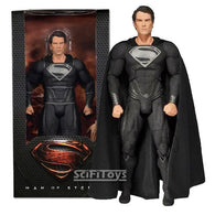 1:4 Superman : Man of Steel - Clark Kent Henry Cavill in Black Suit Figure NECA