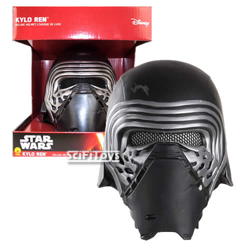 1:1 Star Wars : The Force Awakens - Kylo Ren 2pcs Full Head Helmet Rubies