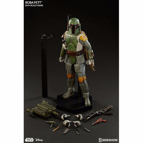 1:6 Star Wars : The Empire Strikes Back - Boba Fett Figure Sideshow