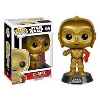 Star Wars : The Force Awakens - C-3PO #64 Pop Vinyl Funko (Box Slight Damaged)