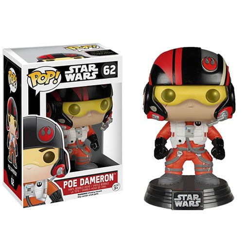 Star Wars : The Force Awakens - Poe Dameron #62 Pop! Vinyl Funko