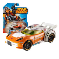 1:64 Star Wars Character Luke Skywalker X-wing Vehicle Car CGW38 Hot Wheels