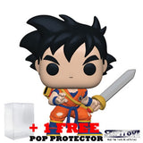 Dragon Ball Z - Young Gohan with Sword #621 Pop Vinyl Funko Exclusive