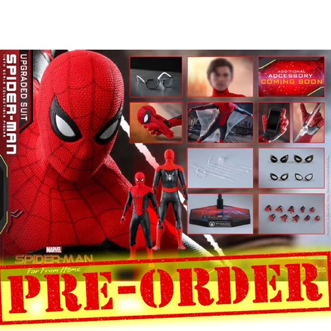 (PREORDER) 1:6 Spider-Man : Far From Home - Spider-Man Upgraded Suit Figure MMS542 Hot Toys