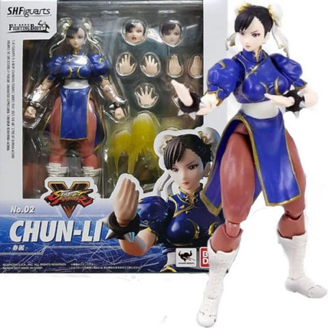 1:12 Street Fighter V 5 - CHUN LI ORIGINAL S.H.Figuarts Figure Bandai Tamashii Nations (LAST CHANCE)
