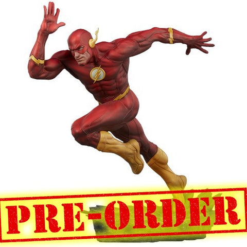 (PREORDER) 1:4 The Flash - Barry Allen Flash Premium Format Statue Sideshow