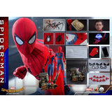 (PREORDER) 1:4 Spider-Man : Homecoming - Spider-Man Tom Holland Figure QS014 Hot Toys