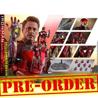 (PREORDER) 1:6 Avengers 4 : Endgame - Iron Man Mark LXXXV 85 Battle Damaged Ver. Diecast Figure MMS543D33 Hot Toys