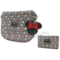 Disney - Minnie Print Handbag or Bi-Fold Wallet Loungefly