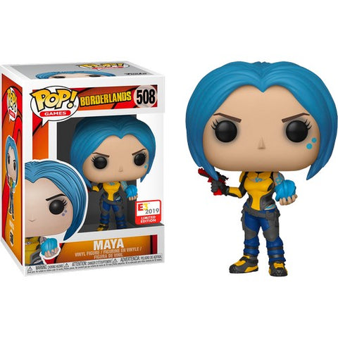 Borderlands - Maya #508 Pop Vinyl Funko E3 2019 Convention Exclusive