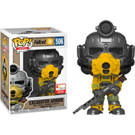 Fallout - Excavator Armor #506 Pop Vinyl Funko E3 2019 Convention Exclusive