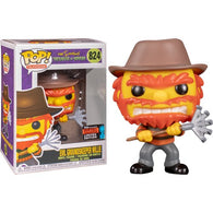 Simpsons - Evil Groundskeeper Willie #824 Pop Vinyl Funko NYCC 2019 Exclusive