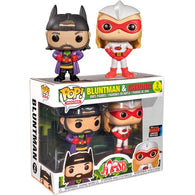 Jay & Silent Bob - Chronic & Bluntman 2 Pack Pop Vinyl Funko NYCC 2019 Exclusive