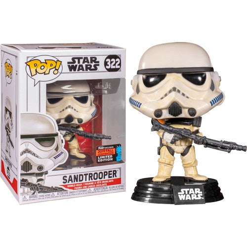 Star Wars - Sandtrooper #322 Pop Vinyl Funko NYCC 2019 Exclusive