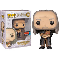 Harry Potter - Filch & Mrs Norris Yule #101 Pop Vinyl Funko NYCC 2019 Exclusive