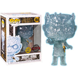 Game of Thrones - Crystal Night King with Dagger Glow In The Dark 84 Pop Vinyl Funko Exclusive