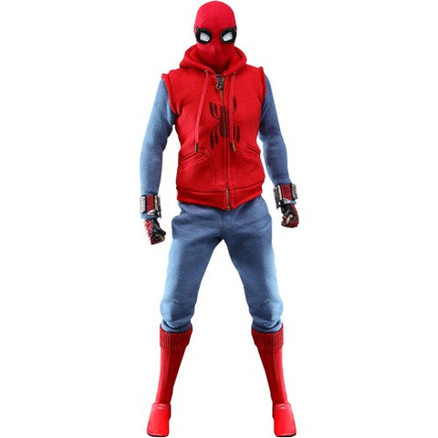 1:6 Spider-Man : Far From Home - Spider Man Homemade Suit Figure MMS552 Hot Toys