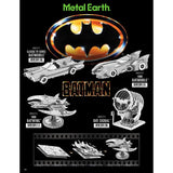 Batman Vehicles 3D Metal Earth DIY Model Kit