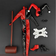 1:6 Harley Quinn Female Custom Outfit with Accessories