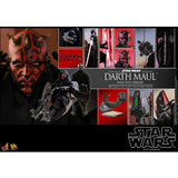 1:6 Star Wars Ep 1 : The Phantom Menace - Darth Maul with Sith Speeder Figure DX17 Hot Toys
