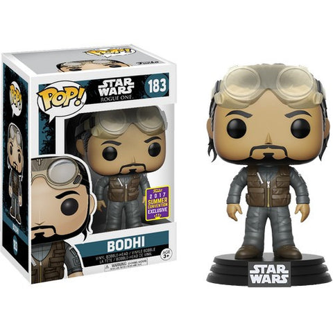 Star Wars : Rogue One - Bodhi Rook #183 Pop vinyl Funko 2017 SDCC Exclusive