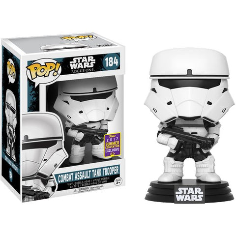 Star Wars : Rogue One - Combat Assault Tank Trooper #184 Pop vinyl Funko 2017 SDCC Exclusive