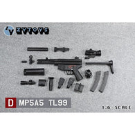 1:6 MP5A5 TL99 Submachine Gun Figure Custom Upgrade Weapon Zytoys